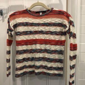 Striped KensieGirl knit sweater